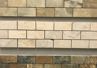 Unicom Natural Slate Brick Mosaic